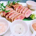 ビストロ藏の灯 - シェフ厳選国産牛のステーキ