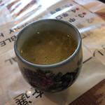 61763209 - スープは生ニンニクたっぷり、、、