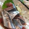 樹 - 料理写真:秋刀魚の刺身