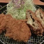 とんかつ 和幸 - 一口ヒレカツ&チーズ入りメンチカツ