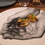 L'Octave Hayato KOBAYASHI - 長崎県小長井の牡蠣のポワレ