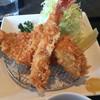 KOROMO - 料理写真:ロースカツ、エビフライ、コロッケ ボリュームたっぷりでしたよ。