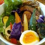 61767286 - 「たっぷり秋野菜スープカレー」