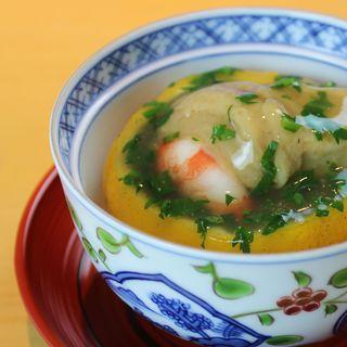 おく村 - 料理写真:柚子釜蒸し