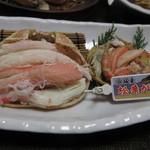 旬魚たつみ - 浜坂産の松葉がに
