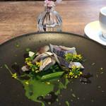 フィオリータ - 鯵の軽いマリネとオータムポエム