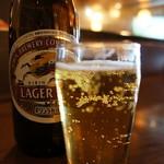 創味 - ビール、酒類の価格は、やや高めです(2017.1.27)