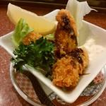 回る寿司 与加呂寿し - 「カキフライ」