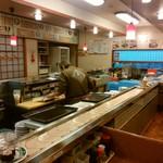 回る寿司 与加呂寿し - 店内