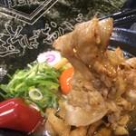 肉玉そば おとど - 極☆肉玉そば普通850円にトッピング海苔120円