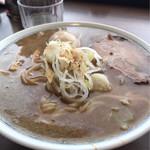 中華そば 田むら - 料理写真:鬼煮干しラーメン(中)味玉トッピング ¥800
