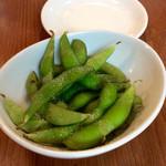 洋食&ビール 自由亭 - 枝豆。