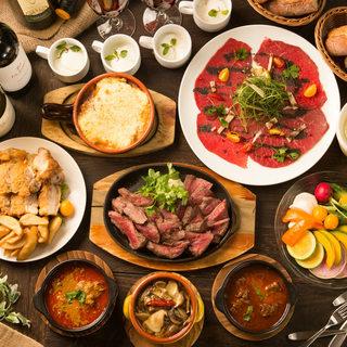 【貸切もOK!】充実した料理の各種宴会コース
