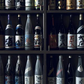 焼酎&季節の日本酒、その他ドリンク