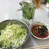 よっちゃん   - 料理写真:お通しときゅうりハイ