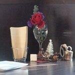 La Bonta - テーブルもクリスマスバージョン