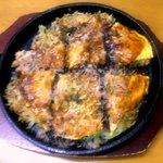 笹やん - 料理写真:野菜+肉・玉子 \570
