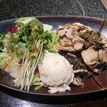 牛禅 - 豚肉の高菜炒め