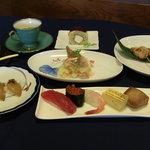 ともえ鮨 - コース料理