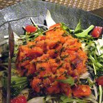 AZ DINING - スモークサーモンと野菜のマリネ
