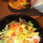 AZ DINING - 有機野菜サラダ オリジナルドレッシングで