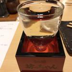 もつ焼 坊っちゃん - 日本酒2杯目