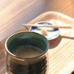 香下庵茶屋 -  甘酒(しょうが添え)
