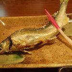 笹周 - 鮎塩焼き