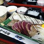 土佐たたき道場 - 2016年11月 タタキ定食(藁焼き体験付き)【1500円】
