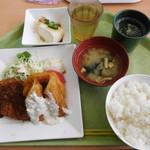 グリーンハウス - 横浜レンガ亭メンチカツ¥690-