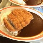 ハングリーベア・レストラン - 【ポークカツカレー…980円】2017/1