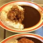 ハングリーベア・レストラン - 【チキン&ローストオニオンカレー…720円】2017/1