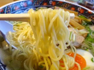 あじさい 本店 - 麺