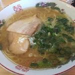 屋台一心亭 - 料理写真:ラーメン・餃子セット=600円