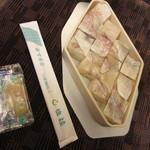 61808116 - 鯛鮨 1030円 (2016.12)