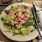 芳べえ - 厚切りベーコンとトマトのコブサラダ2017.01.23