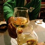 Kunoichiya - 白ワインで乾杯!