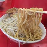 ラーメン二郎 三田本店 - ラーメン二郎 三田本店(東京都港区三田)ラーメン・太麺