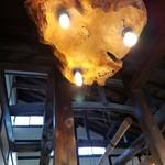 名物 秩父そば 立花 - こうした立派な梁のある天井って昔ながらの建物って感じしますよね。