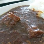 レストラン アルバータ - カレーライス、お肉たっぷり