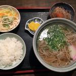 そば庄 - 料理写真:そば定食700円