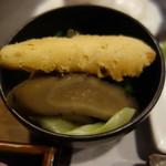 近江牛レストラン ティファニー - 付け合わせの温野菜