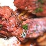 ルポ - 柔らかくて、旨味のあるハラミステーキ