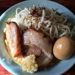 りらくしん - 醤油ラーメン+味玉 2017.1