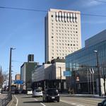 61822504 - ホテルの外観、レストランはこの1階に