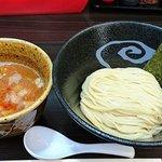 61825058 - スージーハウス @四ツ谷 辛味つけ麺 200g 税込850円 辛さは普通で