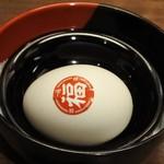 61825549 - 半熟ゆで卵「福らん」120円