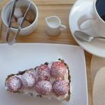 cafe Air - 料理写真:ケーキセット