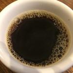 61827384 - インドネシアのマンデリンのハンドドリップコーヒー。                       美味し。