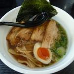 つけ麺 白虎 - 淡麗醤油+チャーシュー